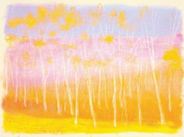 [AMERINGER & YOHE]Wolf Kahn, 'Through a Range of Colors' (2006).