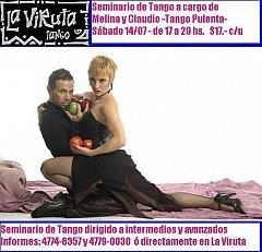 Seminario Tango Pulenta en La Viruta