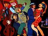 Le Tango en Peinture