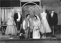 """[Fred Fehl]Larry Kert and Carol Lawrence starred in the original Broadway production of """"West Side Story."""""""