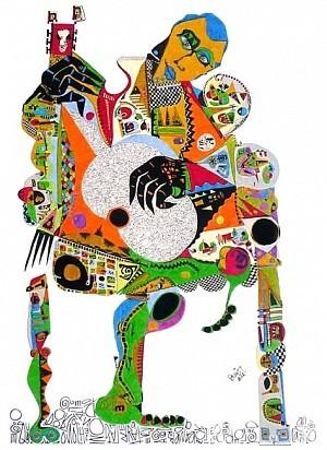 Pablo Di MassoTANGURIA102,5 X 71,5 cmTinta/Papel2012