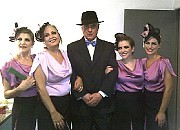 Irene Roust, Cristina Massa, Augusto Lapeyre, Denise Rymberg, Carola Lapeyre [Foto Alba Waisman]