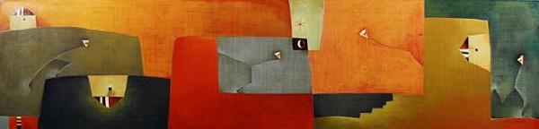 Antonia GuzmánThe Great Walker/ Gran Caminante200722 x 90 inchespainting, acrylic on canvas