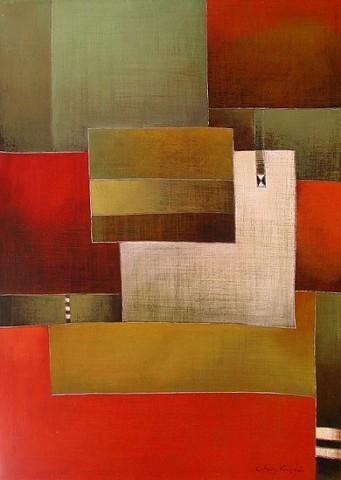 Antonia GuzmánUNA IDEA DE PUEBLOAcrílico sobre tela70 x 50 cmMayo 2005