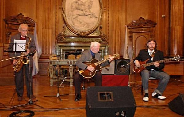 Jazz en la LegislaturaEnrique Varela, Walter Malosetti