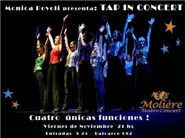 Mónica Povoli presenta: TAP IN CONCERT
