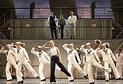 Sutton Foster and the company of Anything Goes