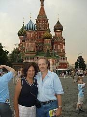 Moscú. San Basilio en Plaza Roja [Ariel Lichtig]