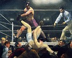 George Bellows - Dempsey and Firpo (1924)