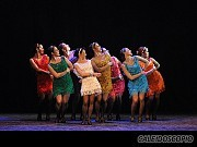 Astrid Santa María, Jimena Rey, Marina Tortorella, Paula Snurewickz, Eugenia Rey, Costanza Asquini, Ginette Stabio y Mariela Cacopardo. [Foto Antonio Fresco]