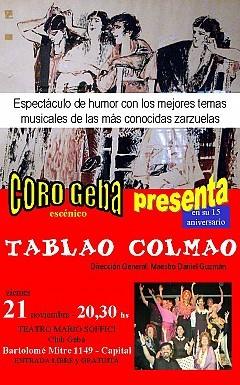 Tablao Colmao, Viernes 21 Noviembre 2008, 20:30 Geba Aldao