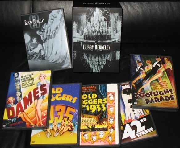 The Busby Berkeley Collection (Footlight Parade Gold Diggers of 1933 Dames Gold Diggers of 1935 42nd Street)