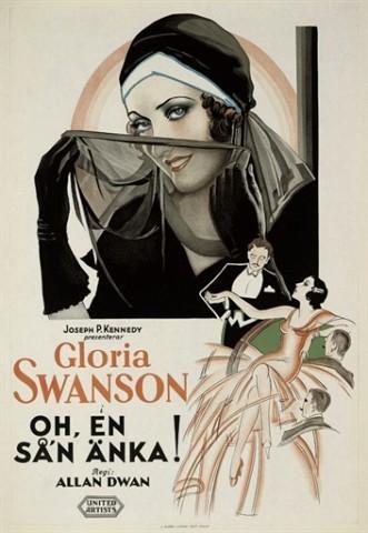 What A Window Oh, En San Änka1930, United Artists, Swedish -- 39x27in. (99x69cm.), (A) unfolded