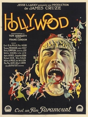 Hollywood 1923, Paramount, French -- 63x47in. (160x120cm.), linen-backed, (A-)