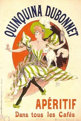 Jules Chéret (1836-1932)Quinquina Dubonet1891Lithographie couleur sur papier, Paris[© Les Arts Décoratifs]