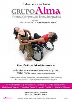 Todos Podemos Bailar, Grupo Alma, Teatro Empire, mie 21nov