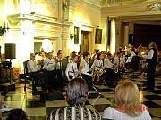 """La """"Banda de Música"""" de Geba, formada por socios bajo la dirección del Prof Daniel Abancens que da cursos de saxo, trompeta y tuba en el taller de Agrupación Musical los lunes 19 á 21h en Sede Aldao."""
