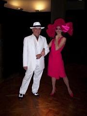 Alberto Agüero y Julia Montiliengo en Galas de CARAS, mar 31may2005
