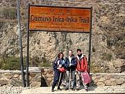 Inicio Camino Inca km82