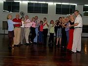 Marta y Eduardo, Ninina y Héctor, Haydee y Miguel, Lorolay y Daniel, Beatriz y Egle, Raquel y Alfredo, Irene y Enrique, Liliana y Antonio