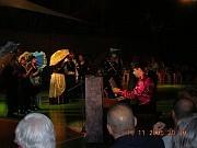 GEBA Show 2005El Maestro Daniel Guzmán y Cantantes-Actores de su Clase de Geba durante la presentación del 10nov2005 en el Show.[Foto Alejandro Lapeyre]