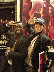James Lane y Héctor Maugeri en Broadway