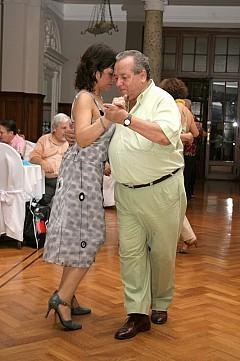 Milongueando en Palermo Cena y Baile viernes 28diciembre2007, en Geba San Martín [Foto Cristina Rivera]