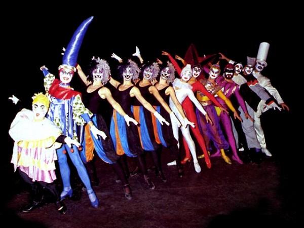 """[Foto Marcelo Dubini]<br>""""El circo de Alberto Agüero"""" (1985-1990)."""