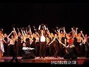 Divertimento en Tap 2007Espectáculo coreográfico musical.Con Alberto Agüero y sus alumnos, invitada Bettina Toyos y su compañía de jazz.Teatro Margarita Xirgu, 10 de diciembre 2007 [Foto Antonio Fresco]