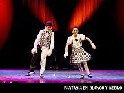 Fantasía en Blanco y Negro, Juegos a la Hora de la Siesta 3; en el Teatro ND Ateneo, Buenos Aires, 03 diciembre 2009. Sol Bridger y Lucas Papalardo [Foto Antonio E. Fresco]