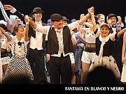 Fantasía en Blanco y Negro, Show Time; en el Teatro ND Ateneo, Buenos Aires, 03 diciembre 2009. La Compañía [Foto Antonio E. Fresco]