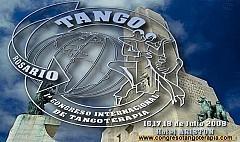 Congreso Internacional de Tangoterapia en Rosario, Julio 2008