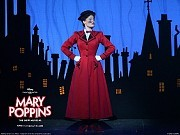 The lovely Ashley Brown portrays Mary Poppins with charm, a sense of humor and crisp vocal power.At The New Amsterdam Theatre Located in the heart of Times Square in New York City. [AP]