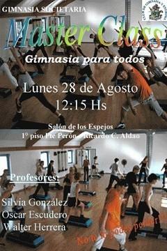 Master Class en Sede Aldao Lunes 28 Agosto 2006, 12:15