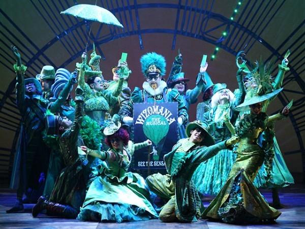 WICKED The Musical, Apollo Victoria Theatre, Wilton Road, London, SW1V 1LG The Company. [Photograph by Tristram Kento]