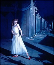 "Moira Shearer in the 1948 ballet classic ""The Red Shoes,"" now newly restored and showing for two weeks at Film Forum."