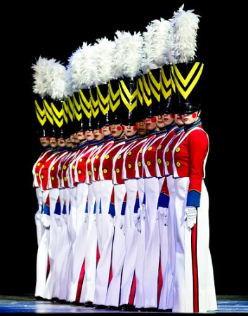 """MSG Entertainment<br><br>The Rockettes in """"Radio City Christmas Spectacular.""""<br>Video: <a href=""""http://www.youtube.com/watch?v=_3joDAXJASA"""">http://www.youtube.com/watch?v=_3joDAXJASA</a> (00:42)<br>Video Parade of the Wooden Soldiers featuring the Rockettes: <a href=""""http://www.youtube.com/watch?v=VqkL6bh2664"""">http://www.youtube.com/watch?v=VqkL6bh2664</a> (01:20) <br>Link: <a href=""""http://www.nytimes.com/2013/11/20/theater/reviews/rockettes-in-radio-city-christmas-spectacular.html?nl=theater&emc=edit_cu_20131120&_r=0"""">http://www.nytimes.com/2013/11/20/theater/reviews/rockettes-in-radio-city-christmas-spectacular.html?nl=theater&emc=edit_cu_20131120&_r=0</a>"""