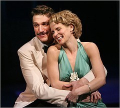 """[Sara Krulwich/The New York Times] Paulo Szot and Kelli O'Hara in """"South Pacific."""""""