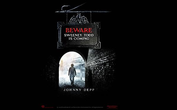 SWEENEY TODD<br>The Demon Barber of Fleet Street