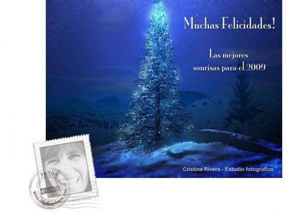 Muchas Felicidades ! Las Mejores Sonrisas para el 2009 (Cristina Rivera)