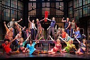 """Kinky Boots"" wins the Tony Award for Best Musical. (Credit: AP/The O+M Company, Matthew Murphy) Video: http://theater.nytimes.com/2013/04/05/theater/reviews/kinky-boots-the-harvey-fierstein-cyndi-lauper-musical.html?adxnnl=1&adxnnlx=1370873610-LyRDAz+l2n/bFTZ8lv4ZOw"