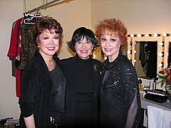 Donna McKechnie, Chita Rivera, Carol Lawrence at Opening Night of Girl's RoomSunday, December 2, 2007; Posted: 12:23 PM - by BWW