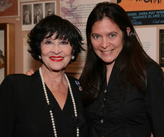 Chita Rivera and Diane Paulus