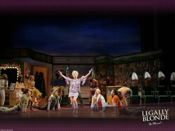 """LEGALLY BLOND The Musical<br>Laura Bell Bundy is sorority star Elle Woods, who doesn't take """"no"""" for an answer. So when her boyfriend dumps her for someone more """"serious,"""" Elle puts down the credit card, hits the books, and sets out to go where no Delta Nu has gone before: Harvard Law. Along the way, Elle proves that being true to yourself never goes out of style."""