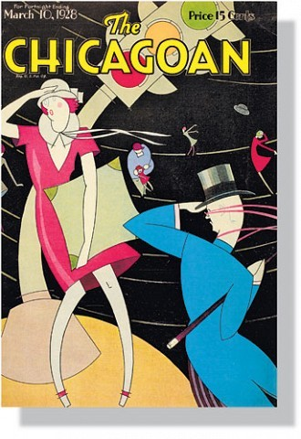 "[From ""The Chicagoan""] Neil Harris, The Chicagoan: A Lost Magazine of the Jazz Age (University of Chicago, $65)"