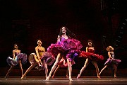"Karen Olivo, center, as Anita, in the newest version of ""West Side Story"" at the Palace Theater in New York. [Sara Krulwich/The New York Times]"